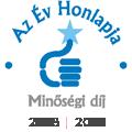 Az év honlapja minőségi díj