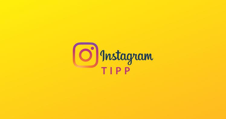 Instagram Hashtag Tipp