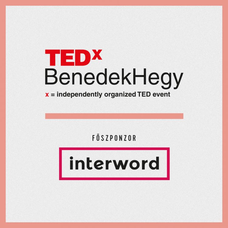 A TEDxBenedekhegy főtámogatója idén is az Interword
